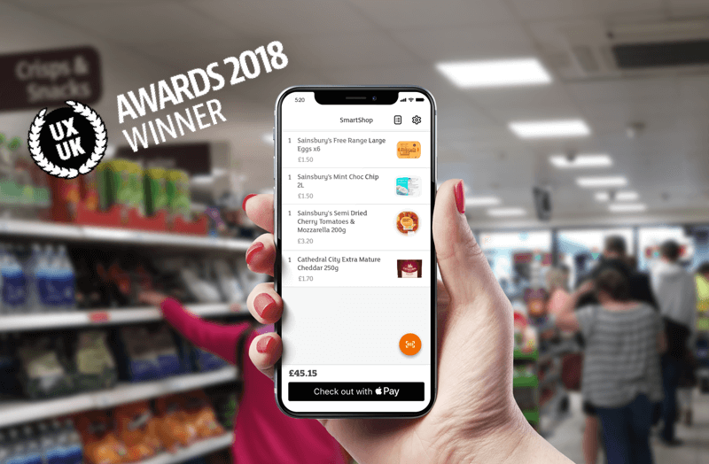 SmartShop Mobile Pay – A UK Supermarket First