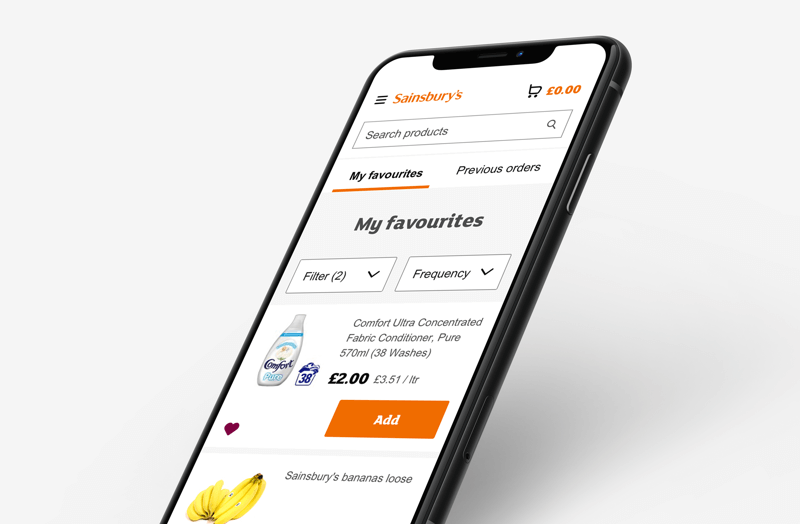 Sainsbury's Groceries Website
